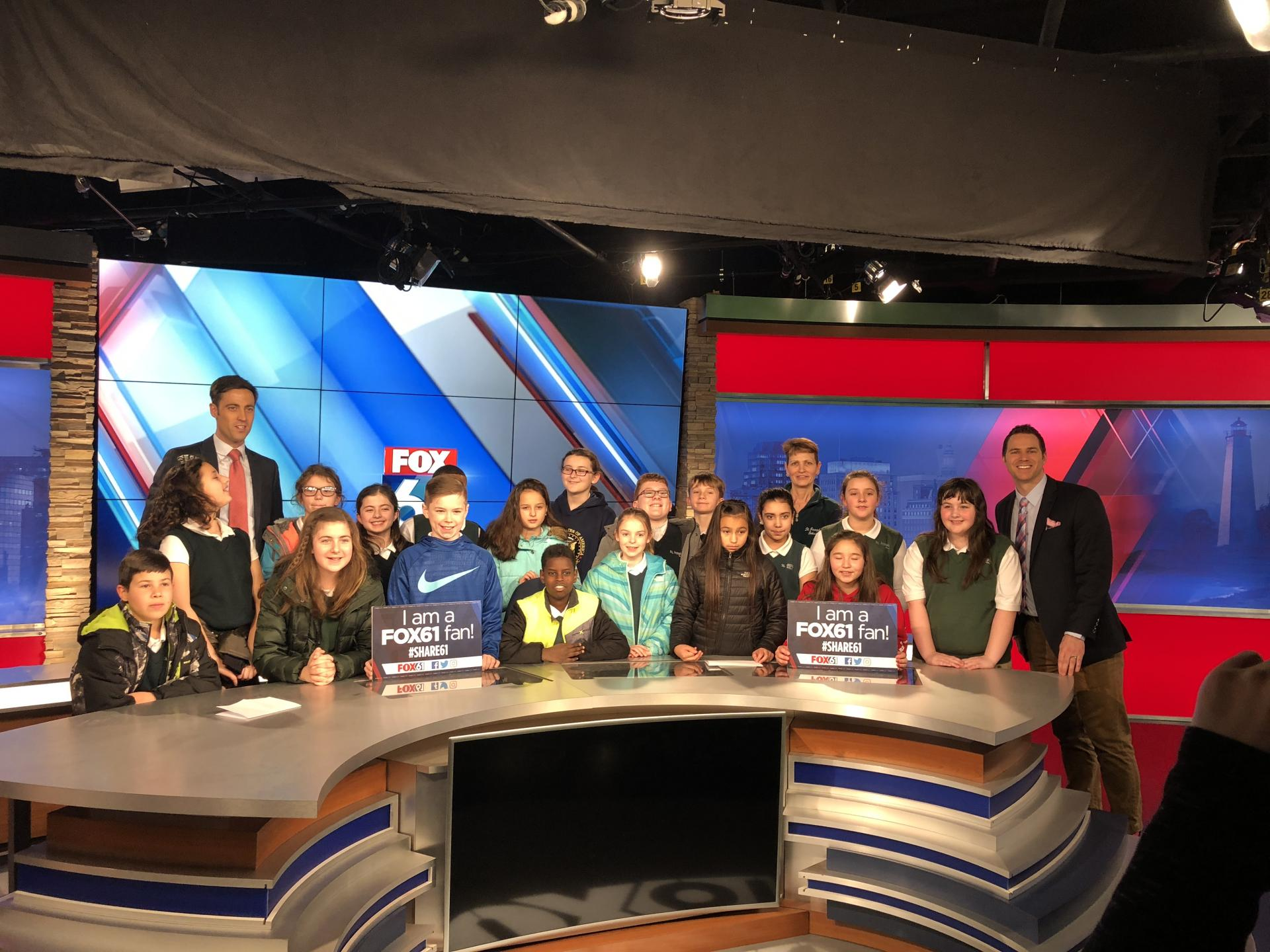 Fox 61 News Field Trip